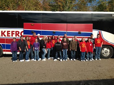 Heading out on our Washington, DC unit trip.